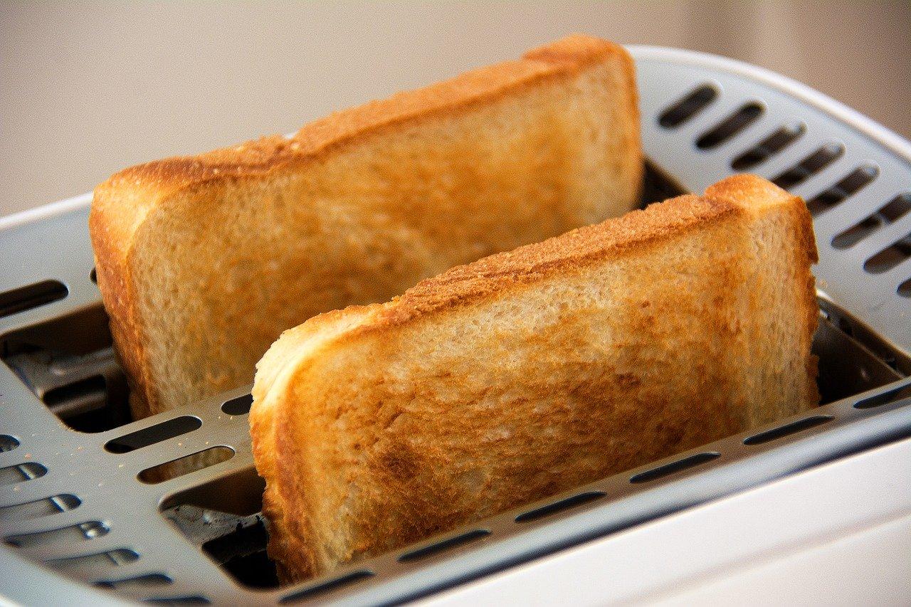 Langschlitz Toaster Edelstahl